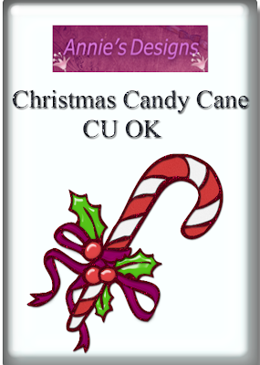 Candy Cane - By: DigitalScrapbookLove Preview
