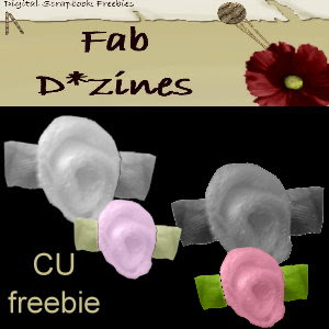 Rose Ribbons - By: Fab D*zines Roseribbons