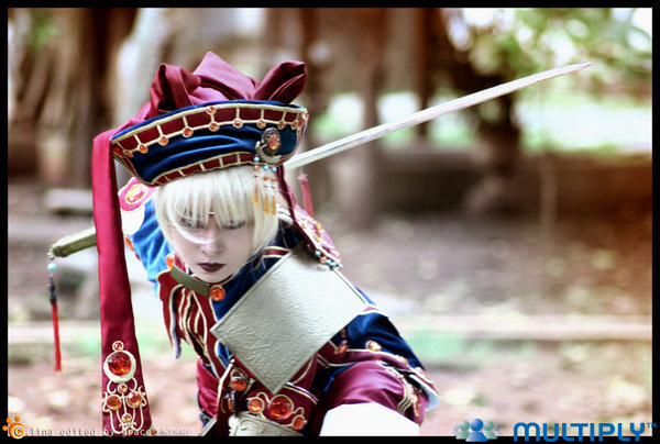 Cosplay Trinity Blood Ion4END