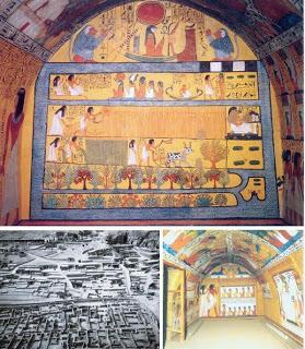 Que sont devenus les artisans qui ont travaillé sur les tombes royales de la Vallée des Rois ? Her04