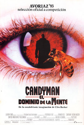 Posters / Carátulas de sorprendente parecido Candyman