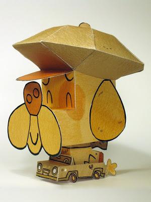 Les jouets en papier -1