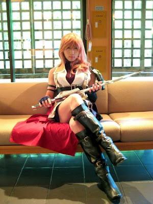 Cosplay Final Fantasy XIII Lightning-masa4