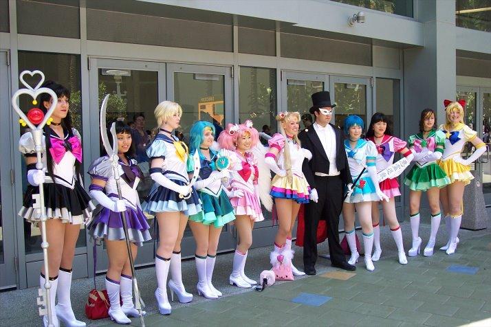 Cosplay Sailor Moon Eternal11