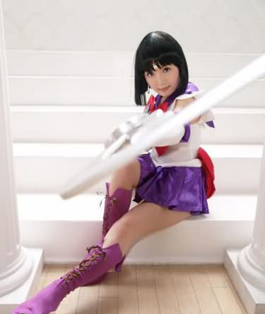 Cosplay Sailor Moon Saturn1