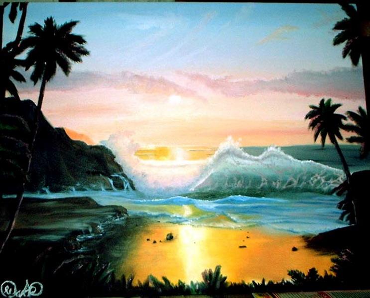 Koleksi Lukisan Pemandangan