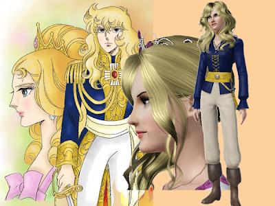 Fanarts d'Elelya - Page 3 Lady-Oscar