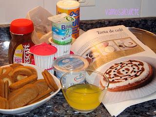 TARTA DE CAFÉ Ingredientes1