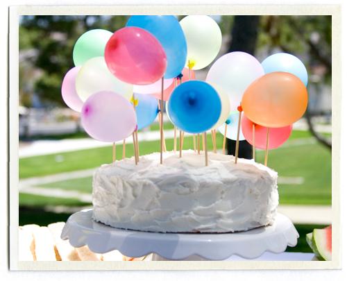 Feliz cumple !!! Tarta-globos