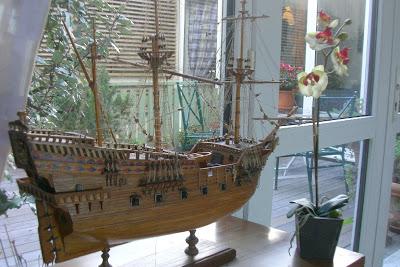 quelques navires Maquette