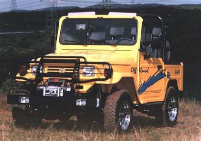 """Uma lenda """" Land Cruiser (Toyota Bandeirantes) - o Indestrutível """" Bandeirante-sport"""