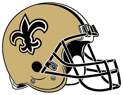 Superbowl XLIV - New Orleans Saints vs Indianapolis Colts New_Orleans_Saints_helmet_rightface