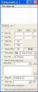 AutoPK V1.26 Kiếm Thế phiên bản 3.0.8 AUTOPK