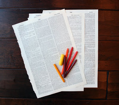 мастер-класс по изготовлению таких листочков. 2BookpaperCrayons