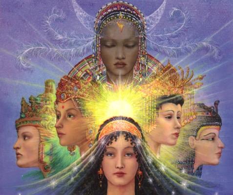 Tibet, Kali, and the Trinity Goddess - Page 5 Goddesses