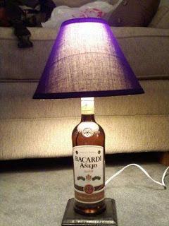 Мастер - классы Booze-Bottle-lamp
