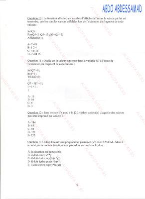 المندوبية السامية للتخطيط: مباراة توظيف تقنيين من الدرجة الرابعة دورة 25 أبريل 2009 HCP_25-04-2009_007