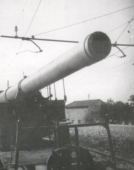 Topčina na RI kolodvoru (1945.) Eisenbahnbatterie%2B749%2B2%2BHASM