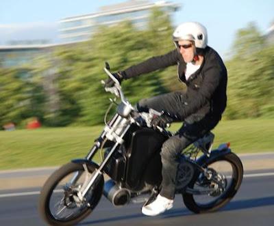 eRockit - moto électrique à pédales Erokit1