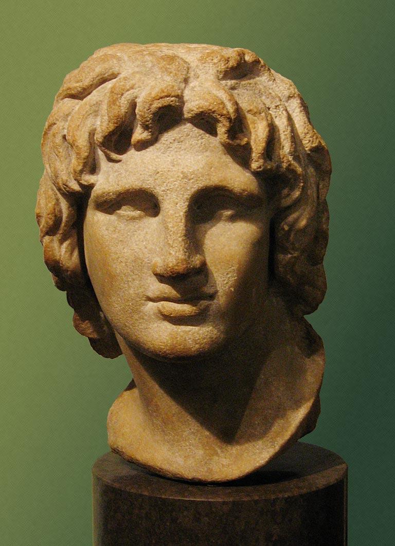 Alejandro de Macedonia Alessandro20magno20busto