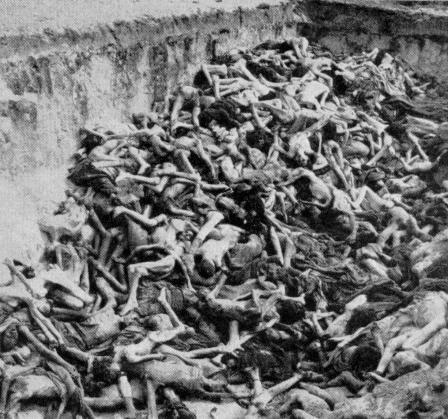 photos des camps de la mort, des ghettos, des prisonniers, des gardiens... Belsen01