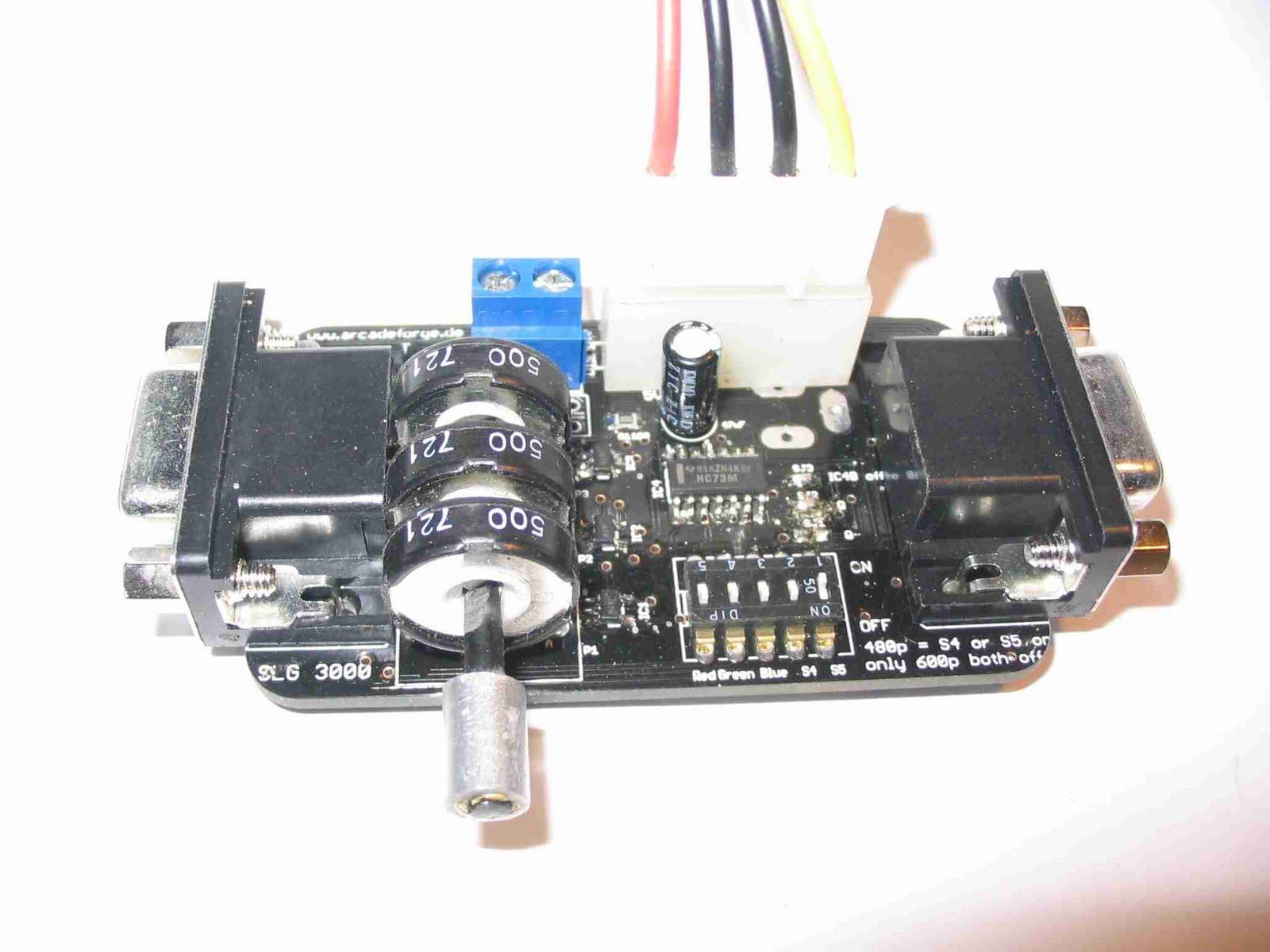 générateur de scanlines pour neogeo x SLG3000-first-release