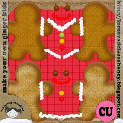 """ Make your own ginger kids "" by Osa Honey PREV"