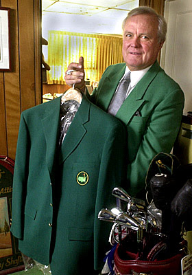 The US Masters at Augusta. MASTERS_JACKET