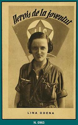 Biografías de Mujeres Socialistas. Cartel%2Blina