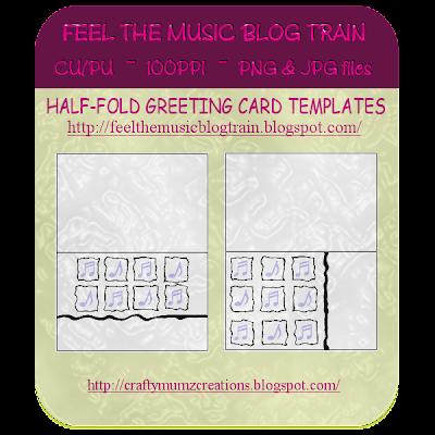 """""""Feel the Music"""" Blog Train Freebie (Craftymumz Creations) HalffoldMUSICcardtemplates_RSW"""