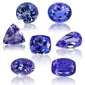 Ý nghĩa các loại đá quý theo tháng sinh Tanzanite