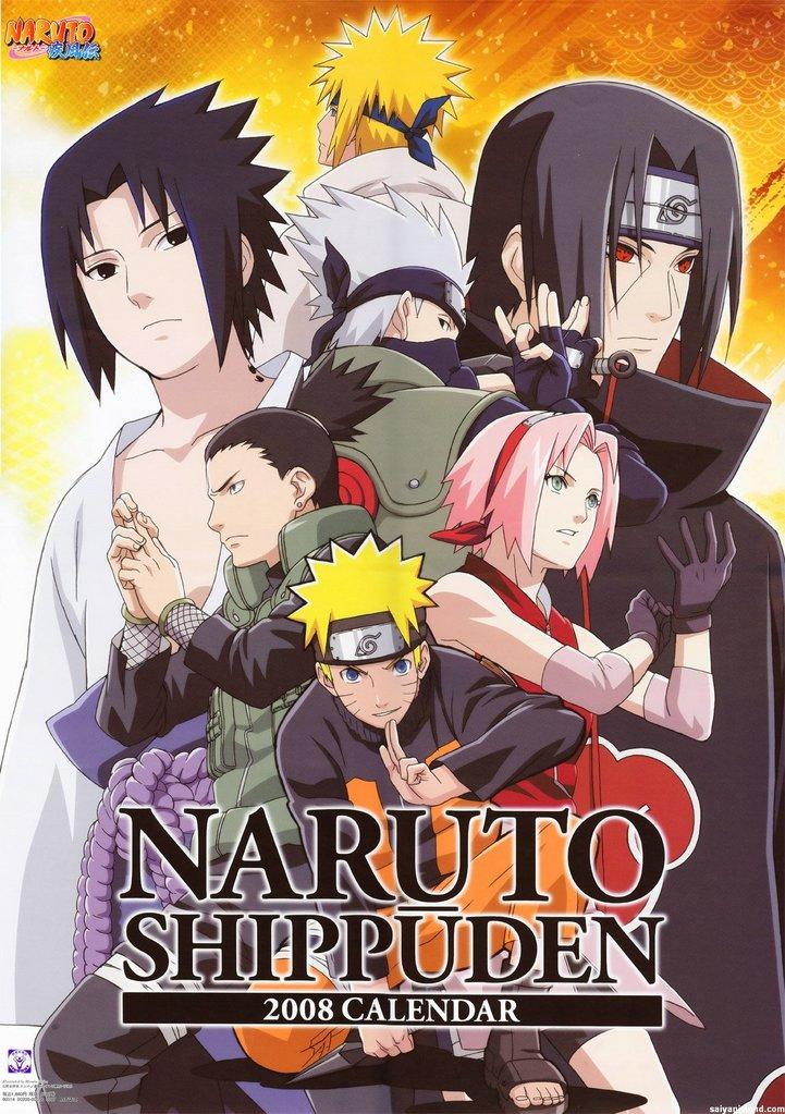 Naruto Shippuden NarutoShippudenCalender2