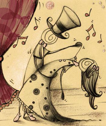 Juego: Jeroglífico romántico El-baile