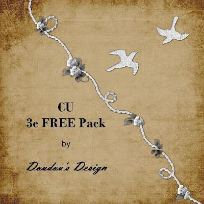 2 éléments à usage personnel ou commercial en FREEBIE ! (Doudou's Scraps) PvCU3efreepack