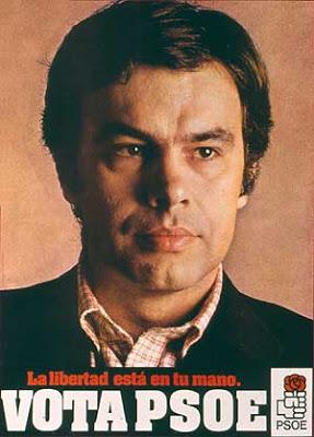 Felipe González, la alternativa de la CIA para controlar España Felipe-gonzalez-la-libertad-esta-en-tu-mano-vota-psoe