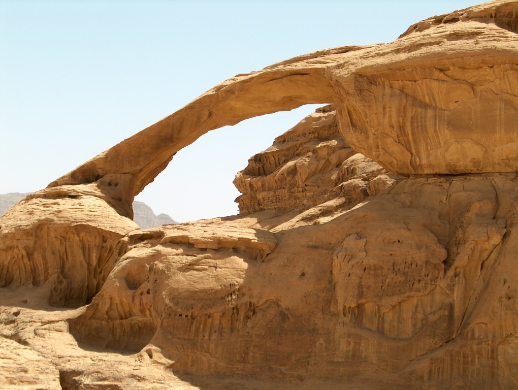♥ صور من بلدي 2 ♥  Wadi-rum-bridge-ii