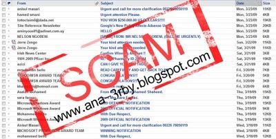 الرسائل المزعجة – الفرق بين السبام و السكام Scam9