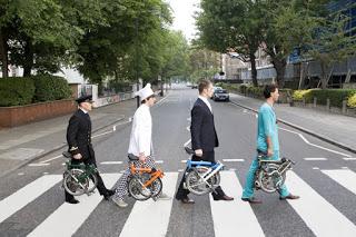 Bike & Art Brompton_abbey_road_ad