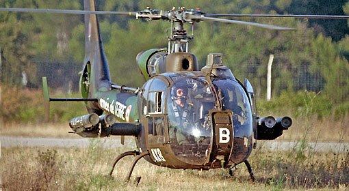 AEROSPATIALE SA 342 GAZELLE Hot ALAT 150ème Réf 80486 Gazelle-hot-alat-1