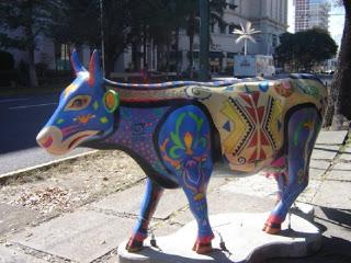 VACAS DE EXPOSICION EN MADRID Cowparade-madrid