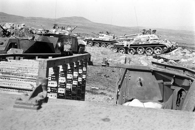 صور معركة وادي الدموع على الجبهة السورية عام 73  91
