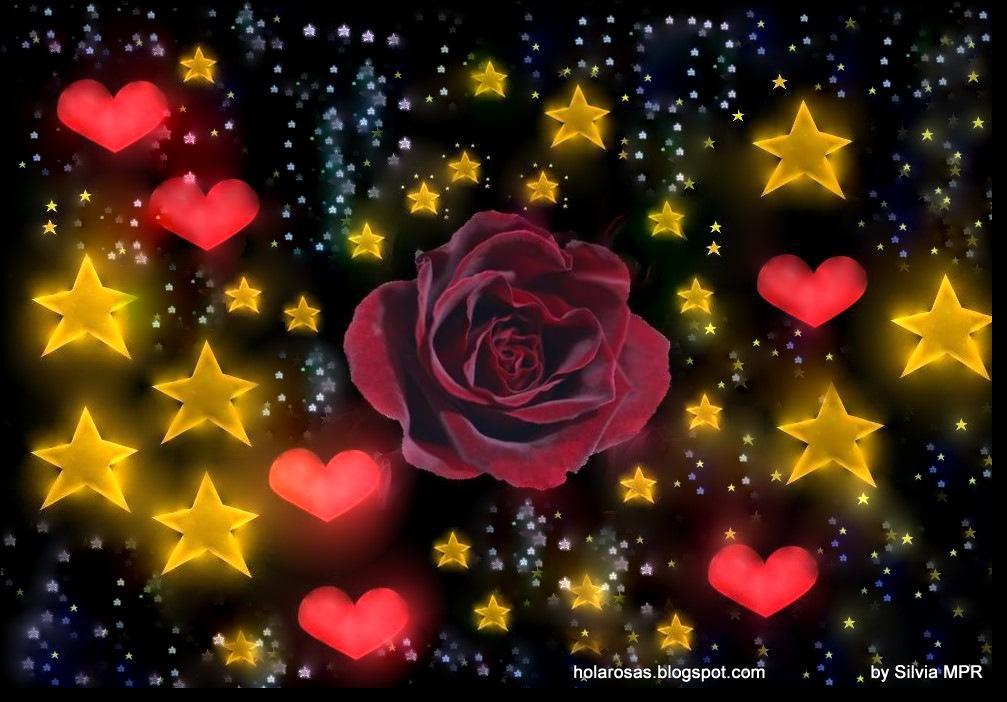 ★ Entre Estrellas ★ - Página 2 Magia%2Bromantica%2Bde%2Bamor%2Bcon%2Bcorazones%2Bestrellas%2By%2Brosas%2Brojas