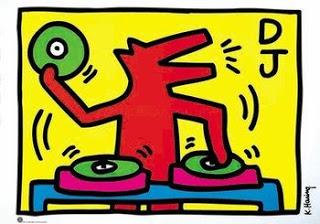 Keith Haring KeithHaring-DJ