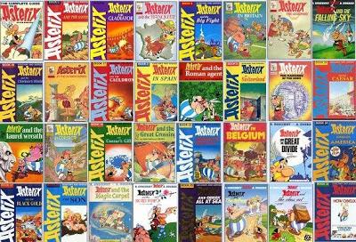 Asterix képregények Asterix