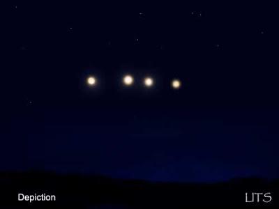Strange Lights in Sky - Colorado Aprillights