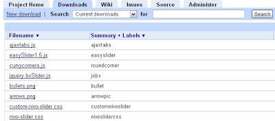 Dùng Google Code,Google Site làm host chứa file js Gc3