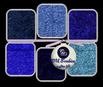 CU FREEBIE BLUE GLITTER FILLS from Channi D's 7