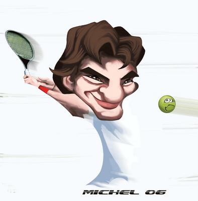 Dibujos de Roger Federer Roger%2BFederer%2Bcaricatura%2B2