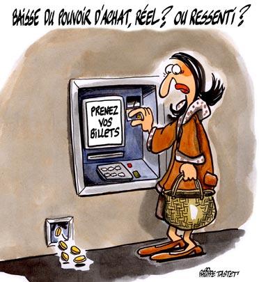 Humour d'Ulysse Baisse-pouvoir-achat