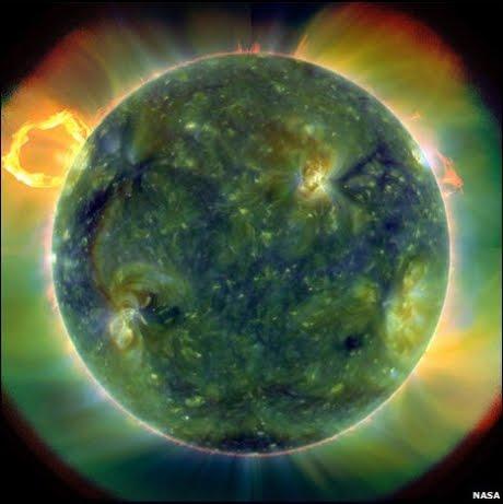 சூரியன் தொடர்பான புதிய படங்களை நாஸா வெளியிட்டுள்ளது Sun